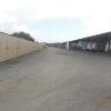A Building fully enclosed 10'x25' thru 10'x35'. Heights from 10' - 12'.